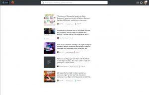 MLC Posts Screen