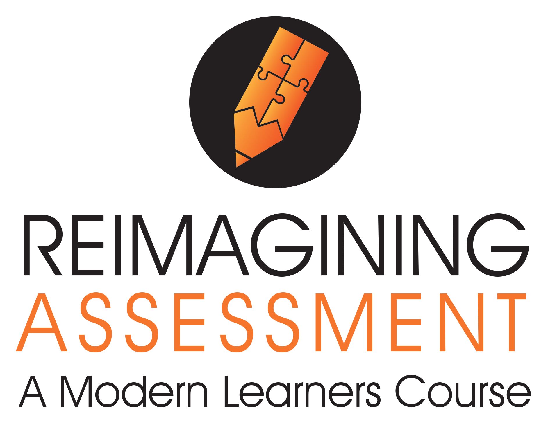 Reimagining-assessment-course logo