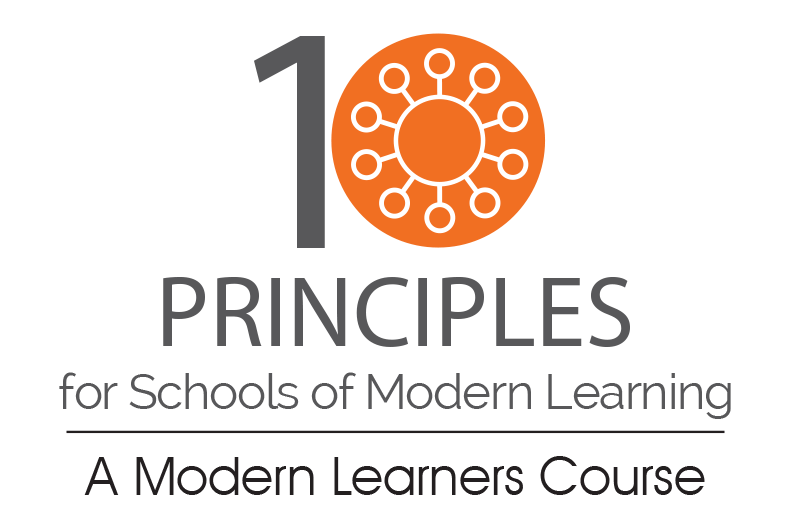 10 Principles for Schools of Modern Learning course logo
