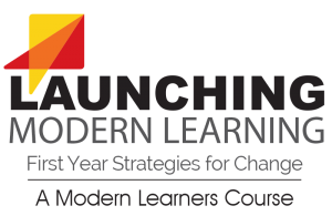 Launching Modern Learning 1st year strategies for change logo