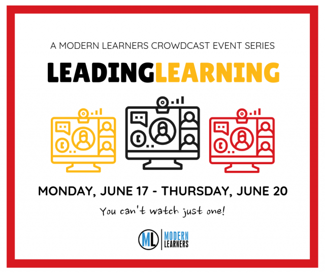 Leading Learning Event Graphic