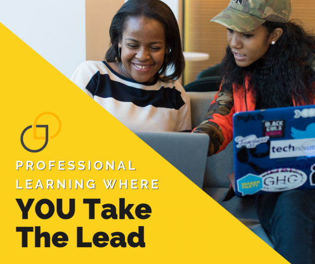 professional learning where you take the lead